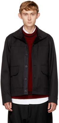 Childs Black Short Bench Jacket