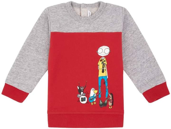 Animal Band Printed Sweatshirt