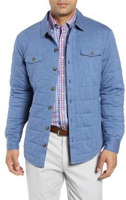 Peter Millar Crown Soft Quilted Shirt Jacket