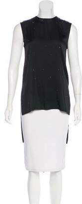 Thomas Wylde Embellished Sleeveless Blouse