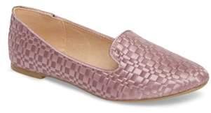 Topshop Sasha Textured Woven Loafer