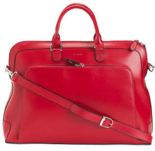 Brera Rfid Leather Briefcase