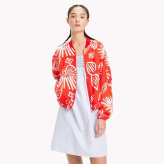 Tommy Hilfiger Floral Bomber Jacket