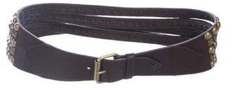 B-Low the Belt Studded Leather Belt