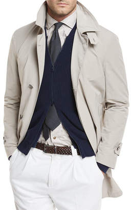 Brunello Cucinelli Nylon Trench Coat