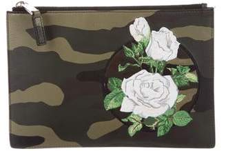 Christian Dior Camouflage Leather Pouch