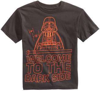 Star Wars Little Boys Welcome to the Dark Side Graphic Cotton T-Shirt