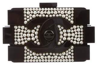 Chanel Pearl Lego Brick Clutch