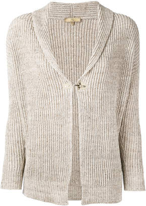 Fay ribbed-knit cardigan