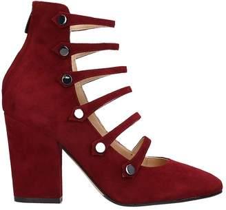 The Seller Bordeaux Suede Ankle Boots