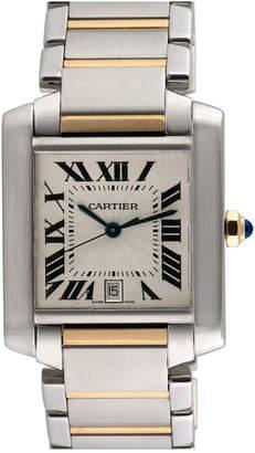 Cartier Heritage  2000S Men's Tank Francaise Watch
