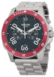 Nixon Stainless Steel Three-Hand Bracelet Watch