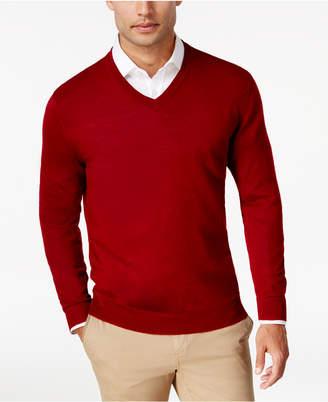 Club Room Men Merino Performance V-Neck Sweater