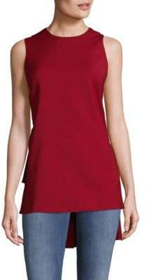 ADAM by Adam Lippes Claret Structured Top