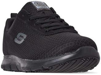 acb18bfab6f2 Skechers Women Work Relaxed Fit  Ghenter - Bronaugh Slip Resistant Wide  Width Athletic Work Sneakers