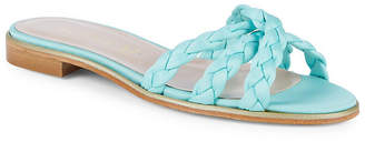 Aperlaï Braided Satin Sandal