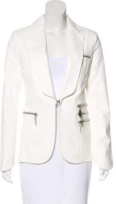 Thomas Wylde Leather Notch-Lapel Jacket w/ Tags