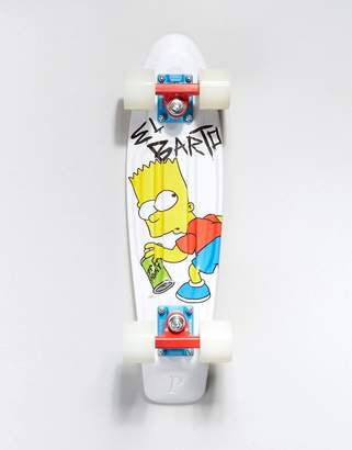 The Simpsons Penny Skateboards Penny x Bart Skateboard - 22 inch