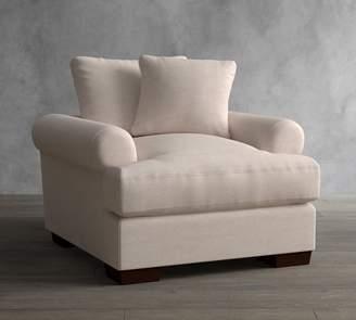 Pottery Barn Sullivan Deep Roll Arm Upholstered Armchair
