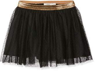 Name It Girl's Nkftullu Tulle Skirt Noos Black
