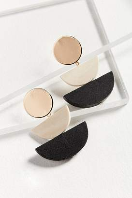 Urban Outfitters Joan Half Moon Drop Earring
