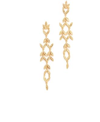 Gorjana Anthea Drop Earrings $75 thestylecure.com