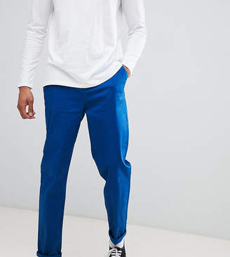 Asos DESIGN Tall relaxed chinos in royal blue