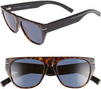25000016d2ebd at Nordstrom · Christian Dior 53mm Flat-Top Sunglasses