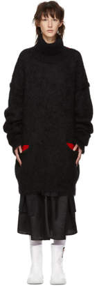 Maison Margiela Black Knit Turtleneck