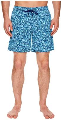 Mr.Swim Mr. Swim Floral Printed Dale Swim Trunks Men's Swimwear