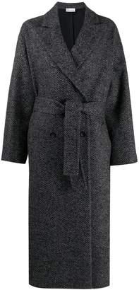 RED Valentino RED(V) herringbone pattern coat