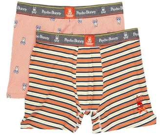 Psycho Bunny Two Piece Boxer Brief Gift Set - Pack of 2