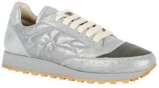 Brunello Cucinelli Metallic Chain Detail Sneakers