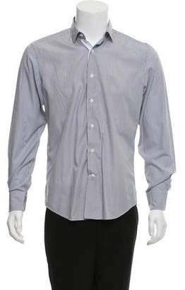 Lanvin Stripe Button-Up Shirt