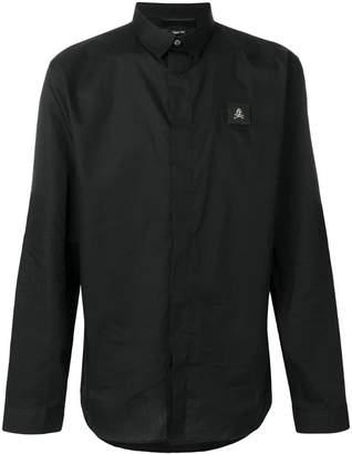 Philipp Plein cutaway collar shirt