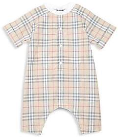Burberry Baby's Colton Cotton Onesie