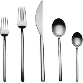 Mepra 20-Pc Due Cutlery Set - Dark Gray
