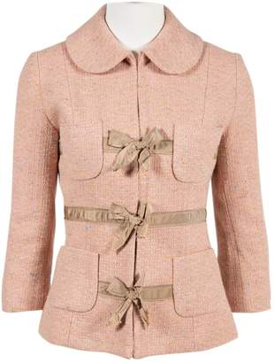 Tracy Reese Pink Tweed Jacket for Women