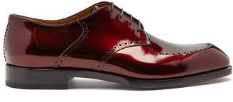 Christian Louboutin A Mon Homme patent-leather brogues