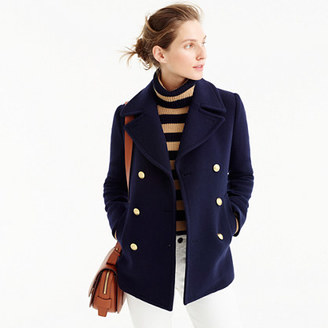 Majesty peacoat in stadium cloth $298 thestylecure.com