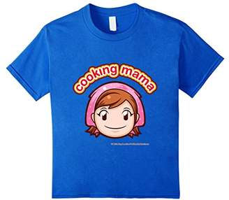 Cooking Mama Face T-Shirt color