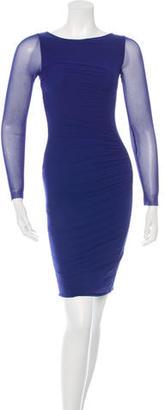 Jean Paul Gaultier Long Sleeve Bodycon Dress $100 thestylecure.com
