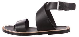 Vince Leather Thong Sandals