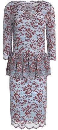 Flynn Lace Peplum Dress