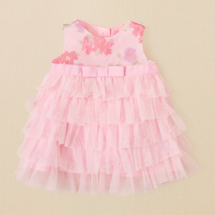 Children's Place Ruffle mesh dress