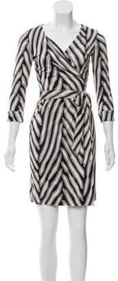 Diane von Furstenberg New Julian Silk Dress Grey New Julian Silk Dress