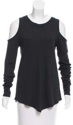 LnA Cold-Shoulder Thermal Top w/ Tags