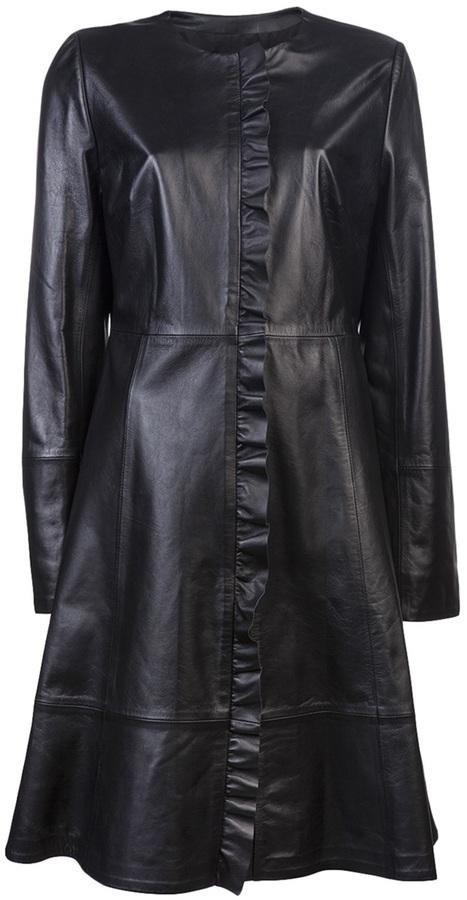 AR+ AR Leather coat
