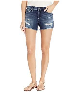 bb8ff2e1326 Silver Jeans Co. Suki Mid-Rise Curvy Fit Shorts in Indigo L53946SCP445