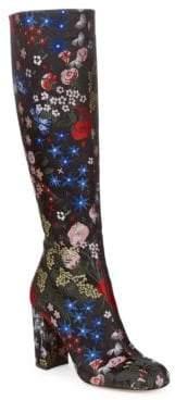 Valentino Multi Print Tall Boots